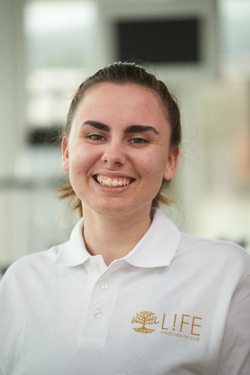 Lernender 3. Lehrjahr Fachmann Bewegungs-/ Gesundheitsförderung EFZ: Jona