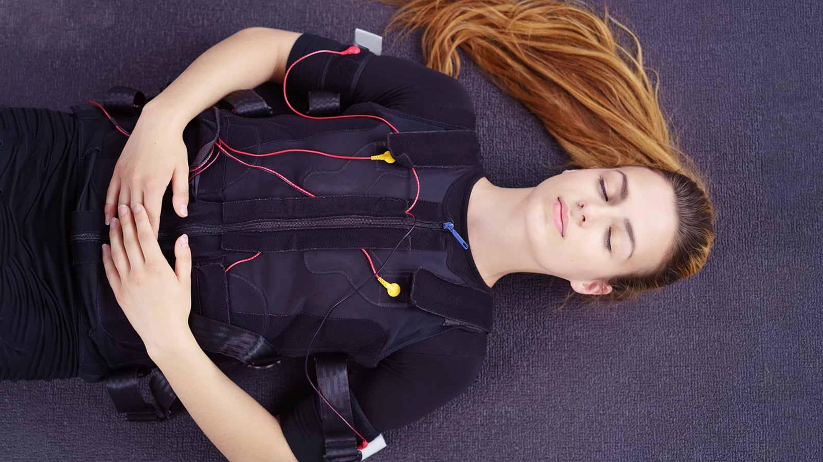 Entspannungsübungen mit EMS Body Relax