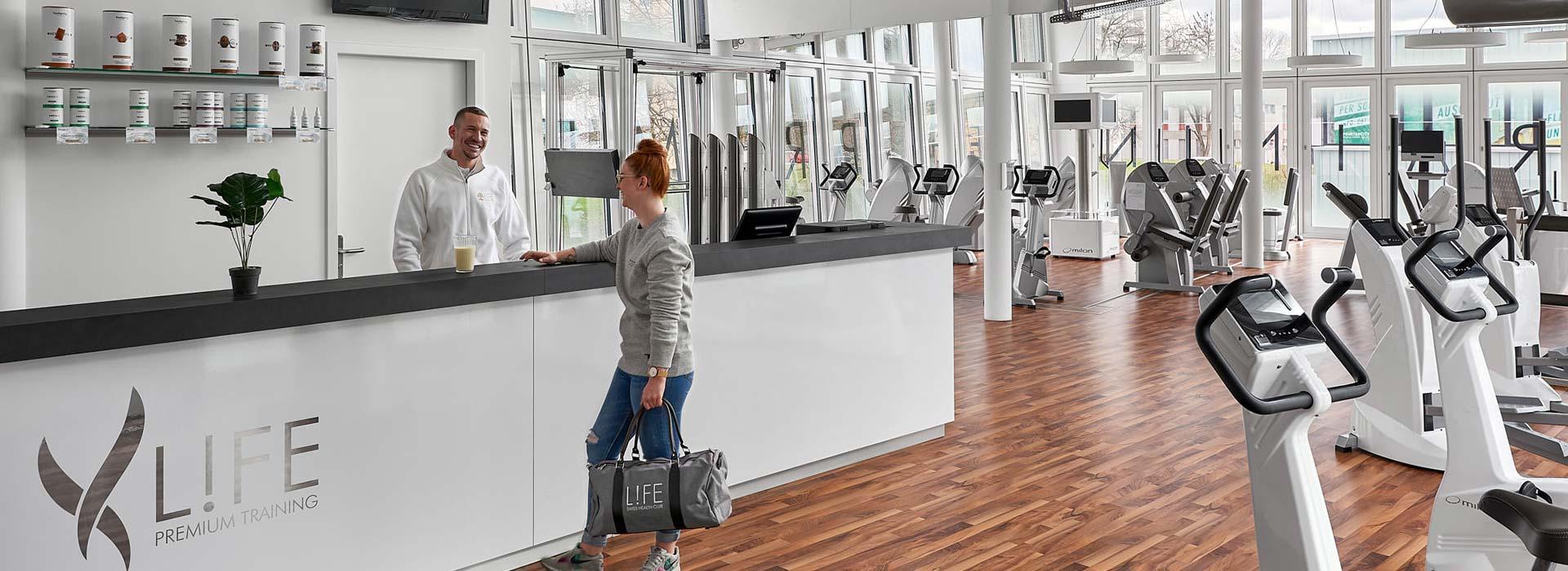 Fitness in Arlesheim bei L!FE Swiss Health Club