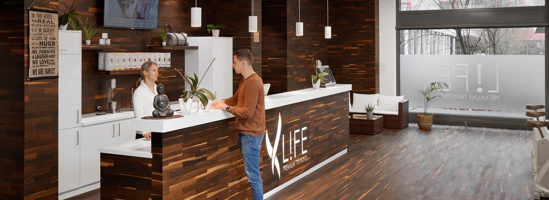 Fitness in Rheinfelden bei L!FE Swiss Health Club